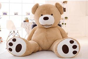 Teddybär mit süßen Tatzen 2 Meter