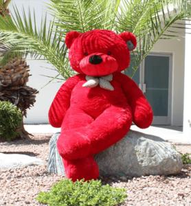 Roter Riesen Teddybär