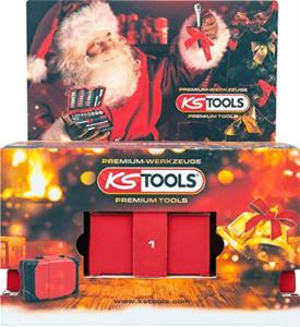 KS Tools Werkzeug-Adventskalender Männer