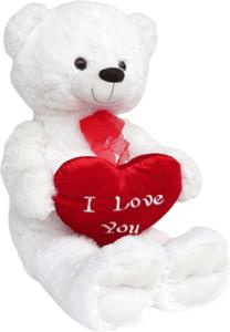 Eisbär mit Herz