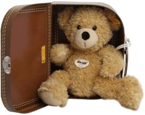 Steiff Teddy Fynn, mit Koffer