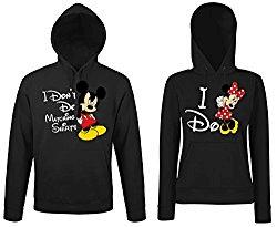 Partner Pullover Mickey und Minnie