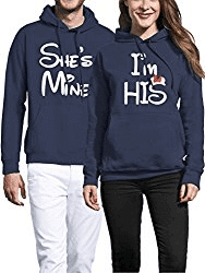 Partner Pullover Set, She is Mine and He is Mine
