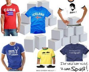 Adventskalender Männer mit T-Shirts