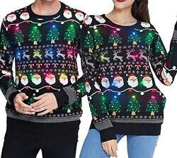 Partnerlook Weihnachts-Pullover