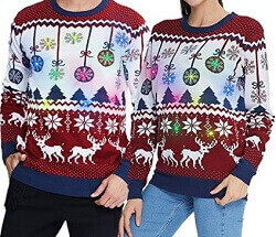 Partnerpullover Merry Christmas