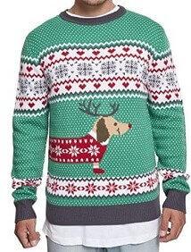 Ugly Sweater Christmas Weihnachtspullover Herren