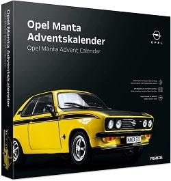 Adventskalender für Männer mit Opel Manta