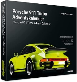 Modellbaukalender mit Porsche 911 Turbo