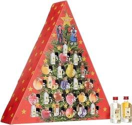 Weihnachtskalender mit Spirituosen