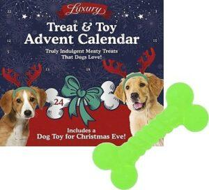 Hunde Adventskalender mit Spielzeug